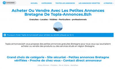 Un nouveau site de petites annonces gratuites pour la bretagne